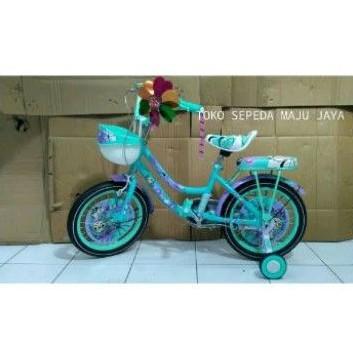 Sepeda anak perempuan MINI BNB ukuran 16