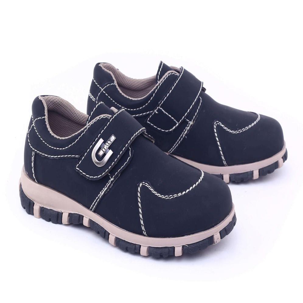 GARSEL sepatu CASUAL ANAK Laki-laki Hitam GMU 9533 murah asli ori original