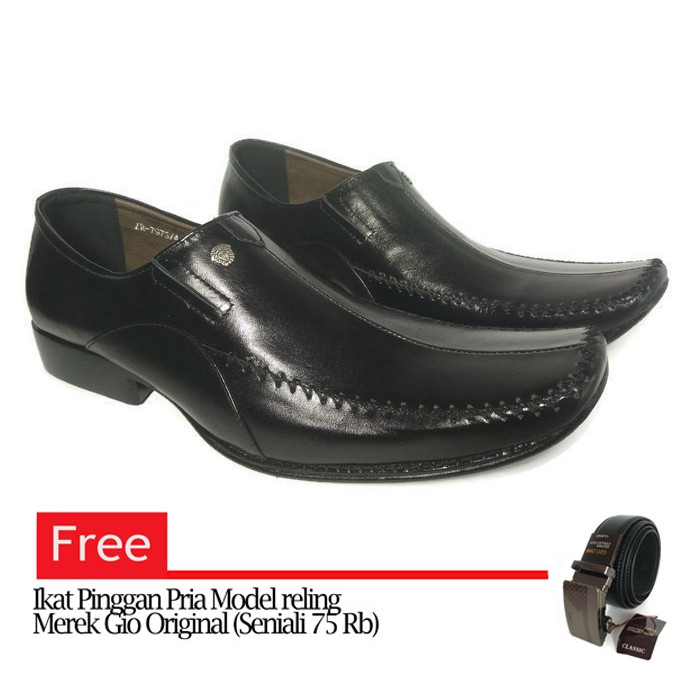 Sepatu Kulit Pria Versace 7973 Pantofel (Free Dompet Kulit Asli ... 6c96f7b9a6