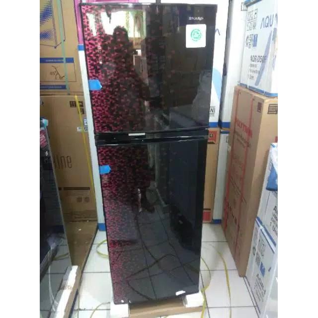 Kulkas Sharp 2 Pintu Sharp Sj236mg Original Daftar Harga Murah Shopee Indonesia