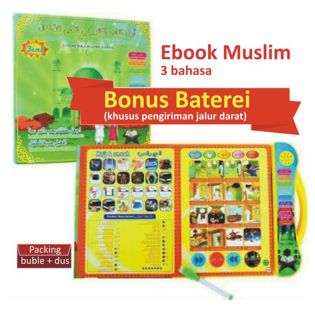 B2c112 Apple Quran Learning 6 Tombol Edukasi Mainan Anak Apel Al Shopee Indonesia