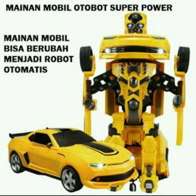 robot mobil mainan