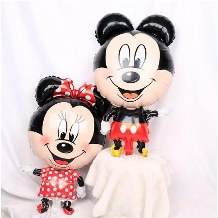 Balon Foil Mickey Minnie Tinggi Balon Mickey Minnie Mouse Balon Mickey Minnie Mouse Shopee Indonesia
