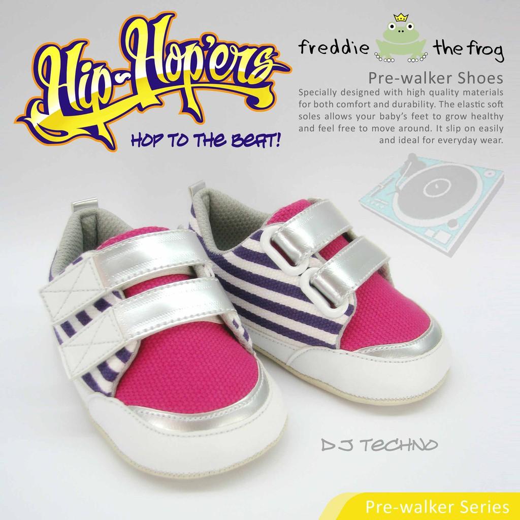 Sepatu Bayi - Prewalker - Baby Shoes | Freddie the Frog | Flame Jr. | Shopee Indonesia