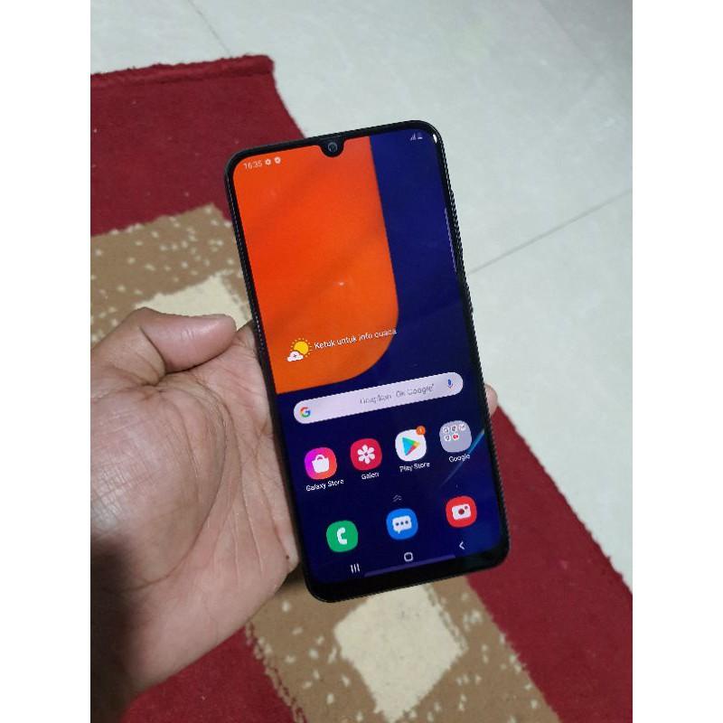 Handphone Hp Samsung Galaxy A50S 4/64 Second Seken Bekas Murah