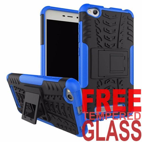 Softcase Rugged Dual Armor Kick Stand TPU Soft Case Lenovo Vibe S1 FREE TEMPERED GLASS  