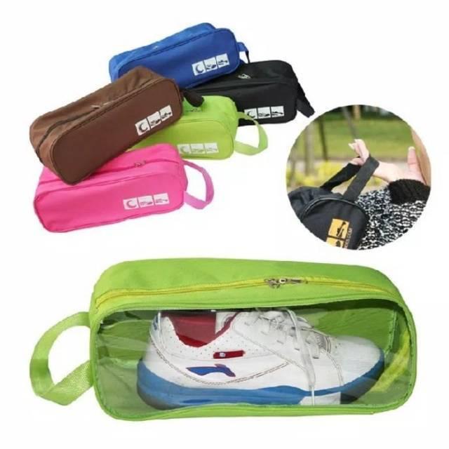 Tas Sepatu Olahraga Futsal Wisata-Monopoly Shoes Pouch Versi 3 FLOWER | Shopee Indonesia