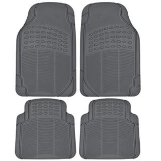 Car Floor Mats >> Bisa Cod Karpet Mobil Universal 4 Pcs 2 Baris Universal Fit Car Mats Car Floor Mats