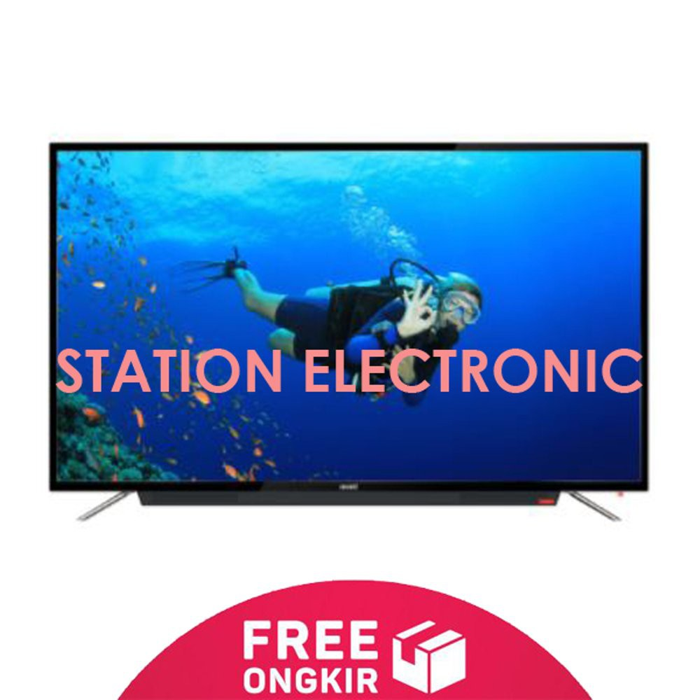 Lg Led Tv Full Hd Dvb T2 43 Inch 43lj500t 43lj500 Hitam Shopee Samsung Ua43k5002 Full