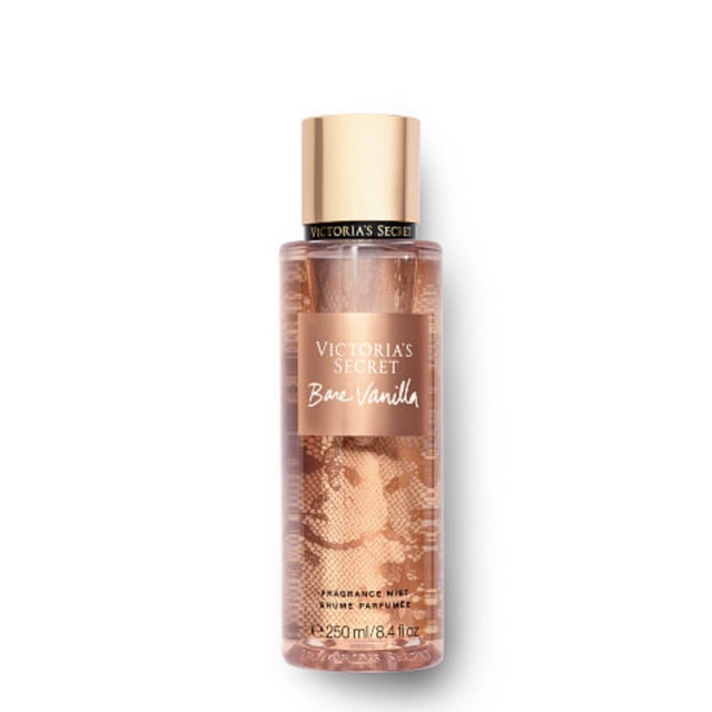 Sale New Bottle Victoria Secret Bare Vanilla Body Mist 250ml Shopee Indonesia