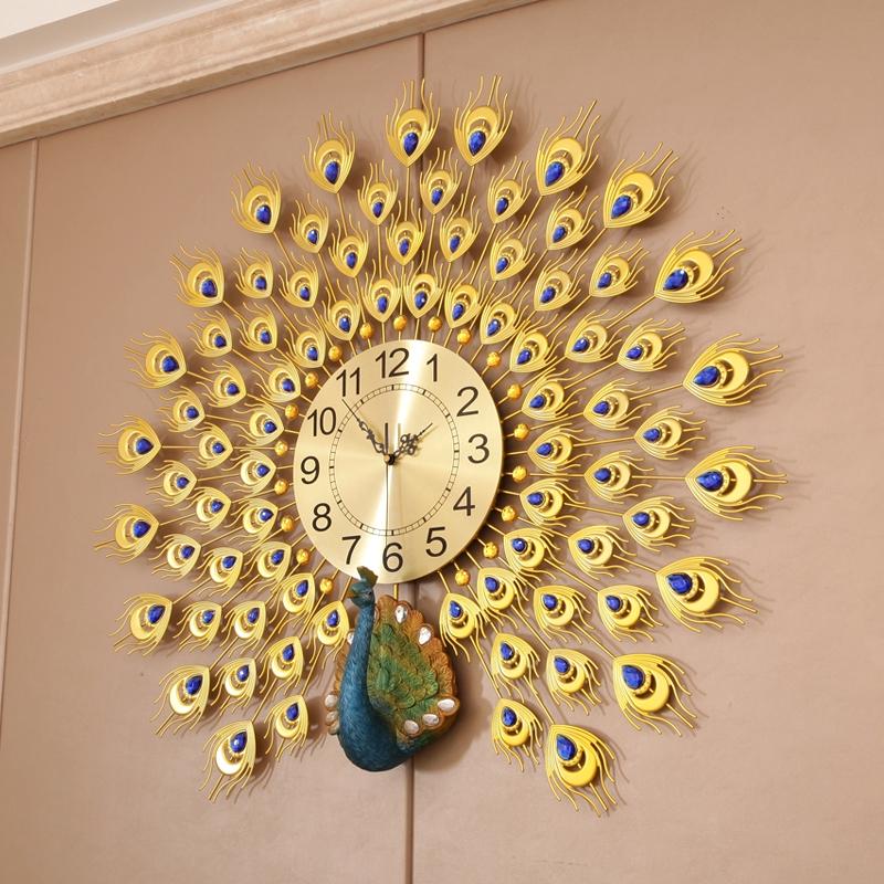 Jam Dinding Ruang Tamu Rumah Mode Bisu