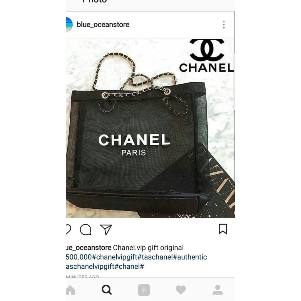 26d7584fc28c TAS CHANEL AUTHENTIC ORI CHANEL VIP GIFT | Shopee Indonesia