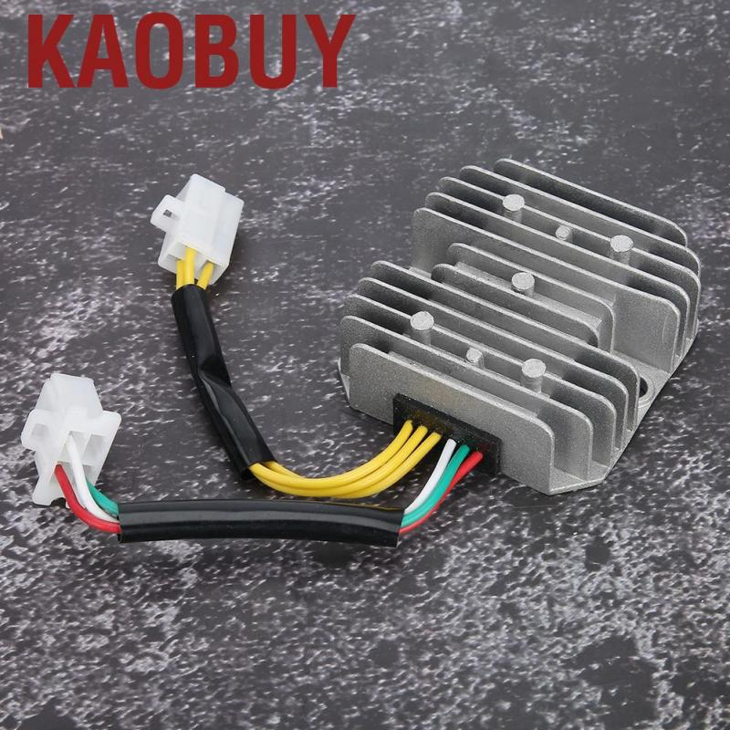 Akozon Voltage Regulator Rectifier Fit for GY6 125cc 150cc 6-Wire