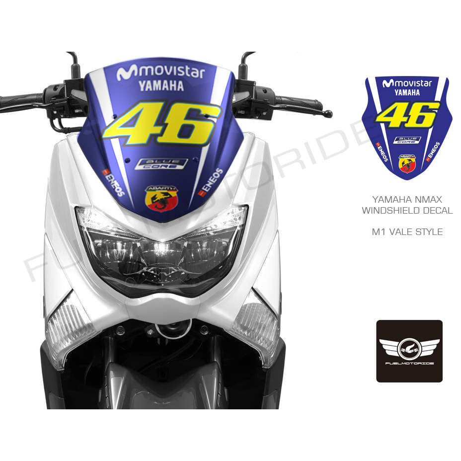 Sticker stiker momo design momodesign yamaha nmax xmax tmax shopee indonesia
