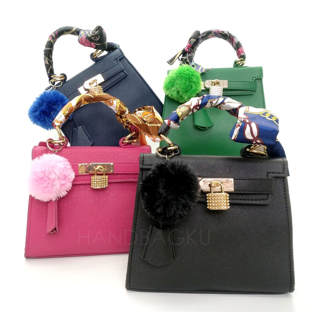 6826 DARK BLUE Tas Fashion Selempang Jinjing e1ec7bd046