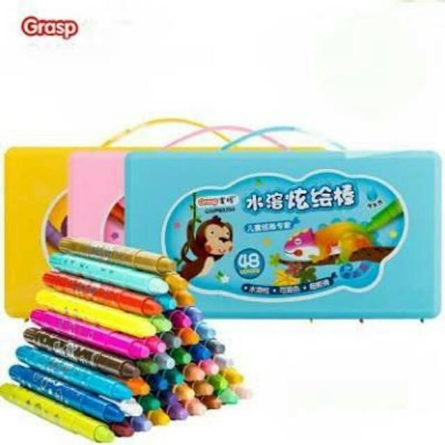Crayon Grasp Ulir Besar Isi 24 Shopee Indonesia