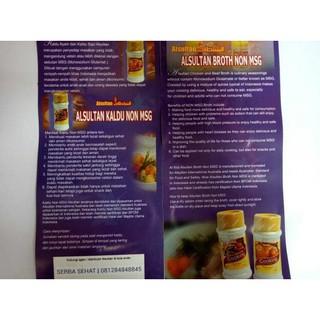 Sub Distributor Jakarta Kaldu Bubuk Sapi Ayam Non MSG Alsultan - Sapi | Shopee Indonesia