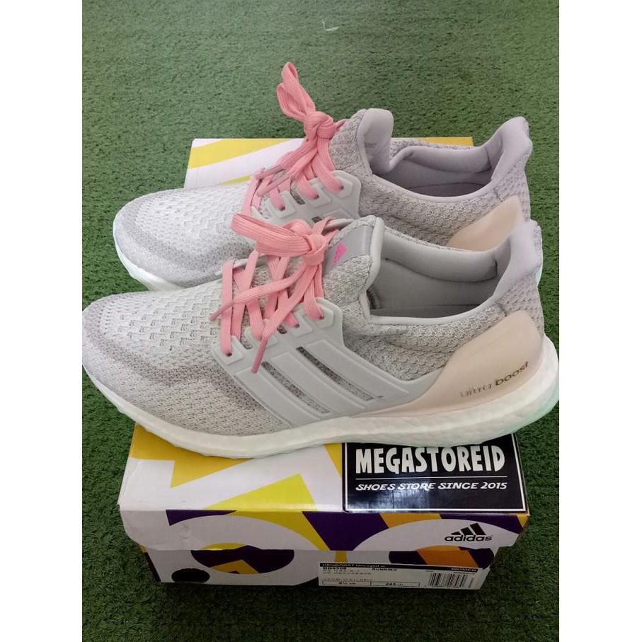 03bd36a4b BiG PROMO Sepatu Adidas Ultra Boost 4.0 Candy Cane Pink UA ORIGINAL BASF  BOOST ...