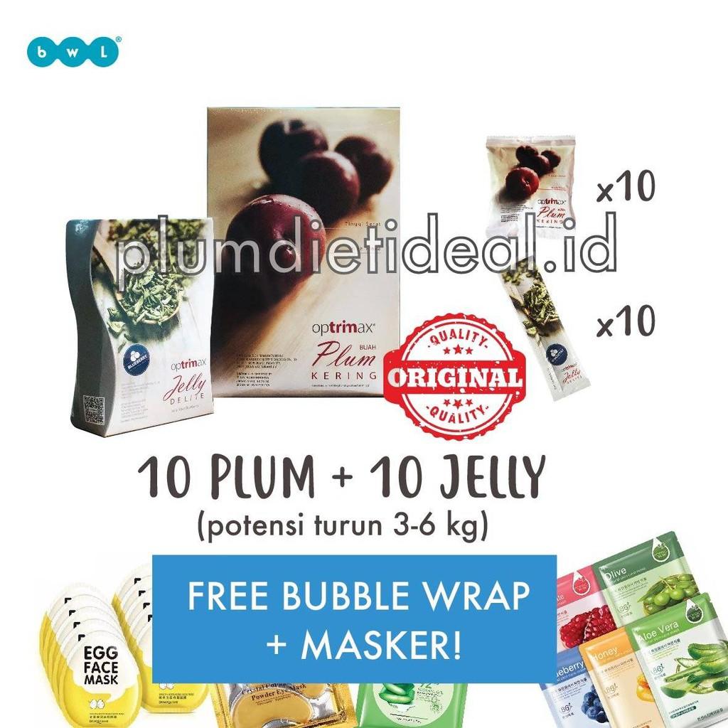 Optrimax Plum Delite 1 Box 3 Jelly Shopee Big Indonesia