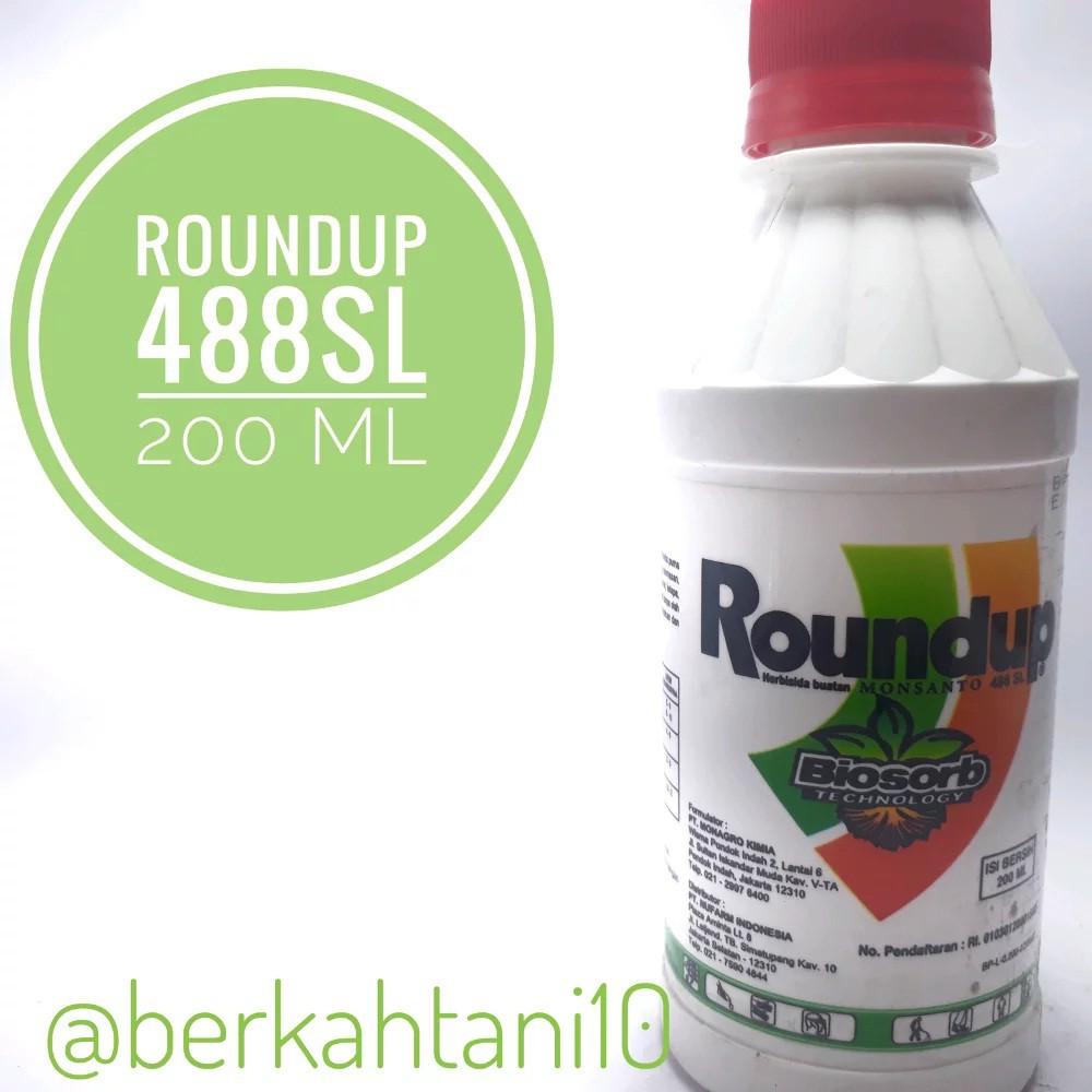 Herbisida Roundup 200 ml .
