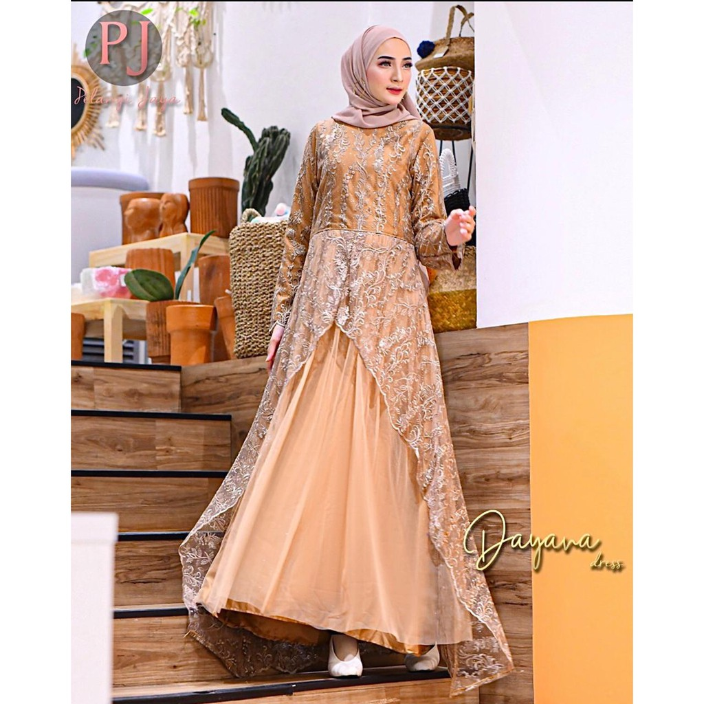 DAYANA DRESS by Pelangi Jaya Original
