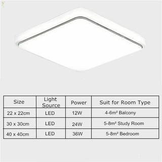 lampu atap led model persegi desain modern untuk dekorasi
