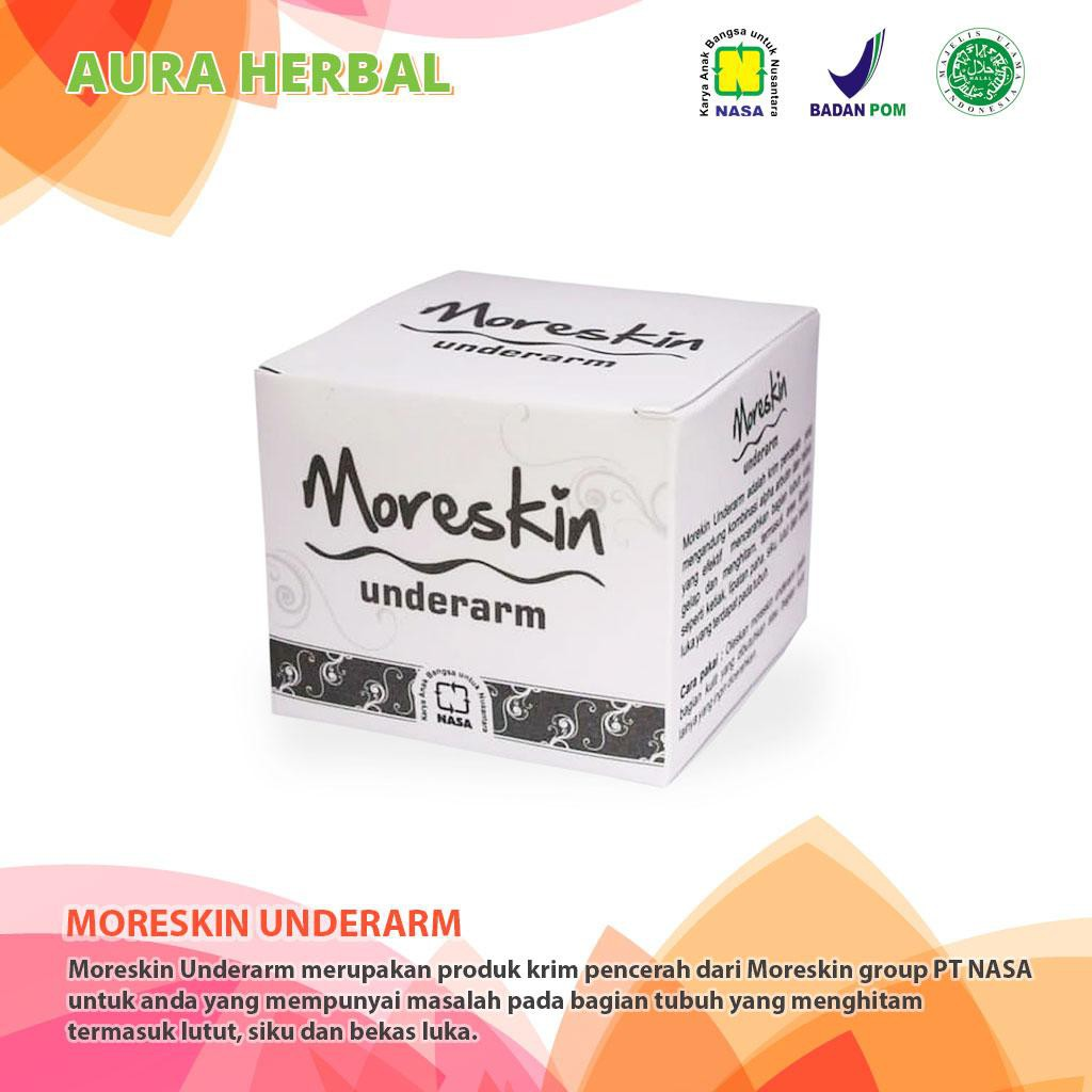 Moreskin Clean Glow Ori By Nasa Krim Pencerah Wajah Glowing Herbal Ertos Nigt Cream Pemutih Kpw 146 Shopee Indonesia