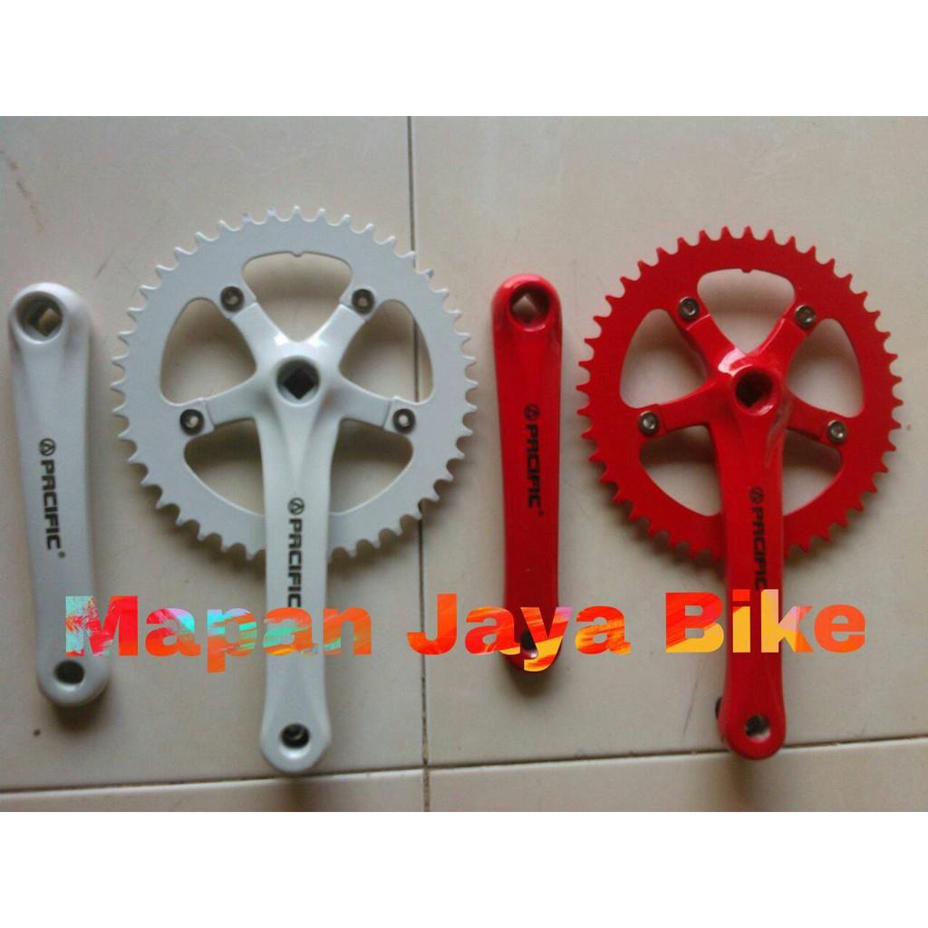 "Ongkir Murah 20"" Pacific Spinix TX 5.0 Freestyle OPC Crank Sepeda BMX Sumatera Jawa Bali"