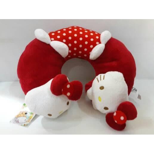bantal leher kepala tulang boneka hellokitty hello kitty hk   Shopee Indonesia