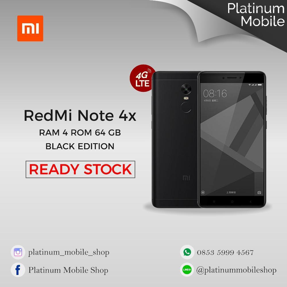 Dijual Redmi Note 4x Ram 3 Gb Internal 32 Rom Global Official Bi Xiaomi 2 Black White 1gb 8gb 8 Garansi Distributor Playstore Termurah Shopee Indonesia