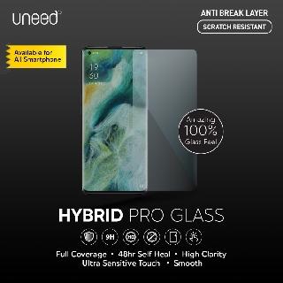 Uneed Hybrid Pro Anti Gores Samsung Galaxy A51 Anti Break Full Screen