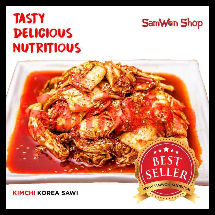 KIMCHI MIX SAWI WORTEL LOBAK FRESH 500 GRAM SAMWON Makanan Korea ORIGINAL | Shopee Indonesia