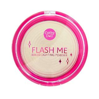 Cathy Doll Flash Me Baked Lighting Powder No 02 Golden Light 2