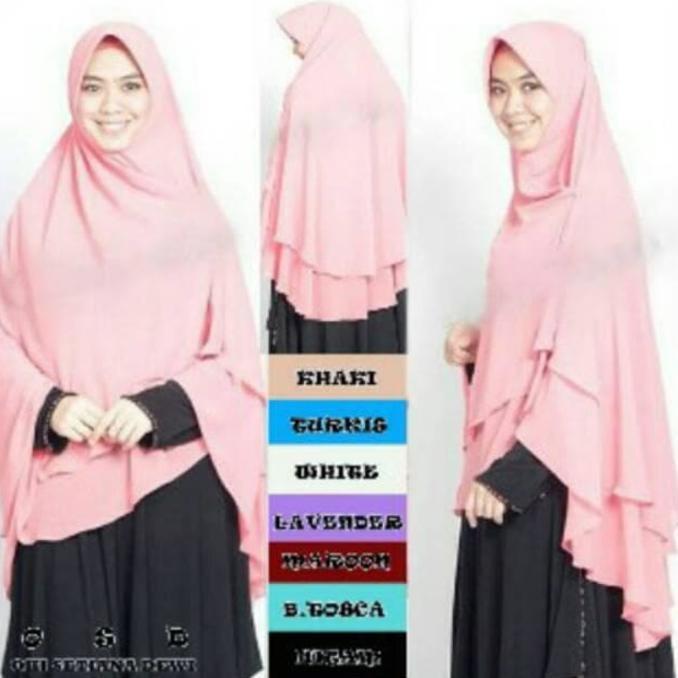 Hijab Syari Qalisya Jumbo Grosir Jilbab Instan Murah Wanita