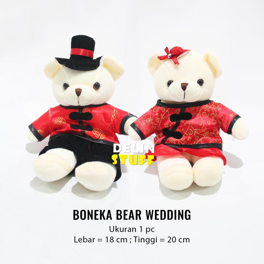 BONEKA MARRIED BERUANG   BONEKA COUPLE   TEDDY BEAR WEDDING  4942aca0f6