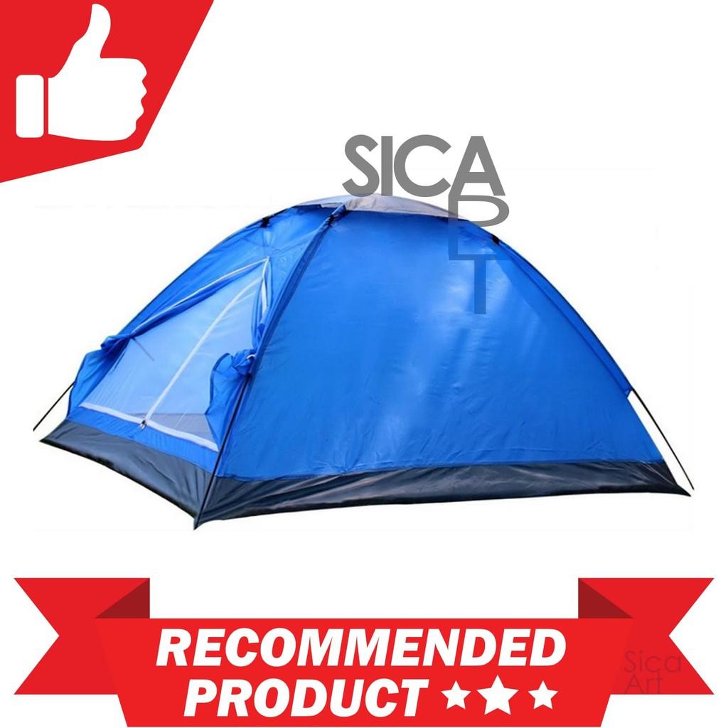 Tenda Camping Dobel Layer Double Door Tent Shopee Lampu Model Bulat Bakpau Indonesia