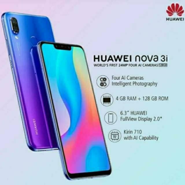 Huawei Nova 3i 128gb 4gb Garansi Resmi Shopee Indonesia