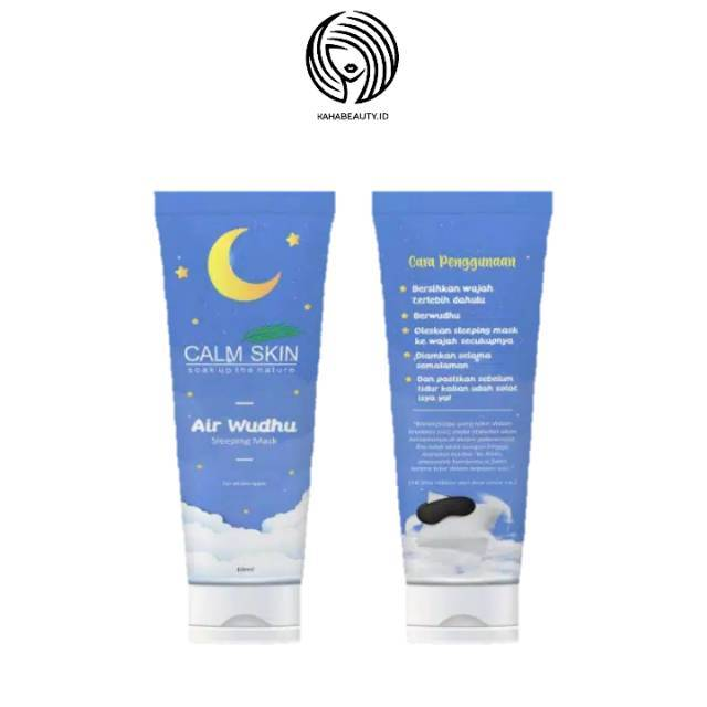 Calm Skin Sleeping Mask Air Wudhu Shopee Indonesia