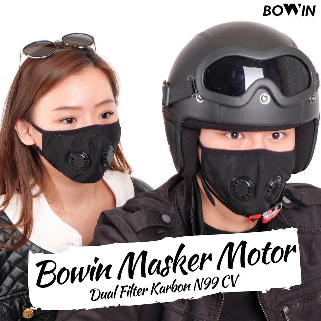 Masker Anti Polusi Filter Udara 3M Masker Mulut Motor Mask 3M 9001V   Shopee Indonesia