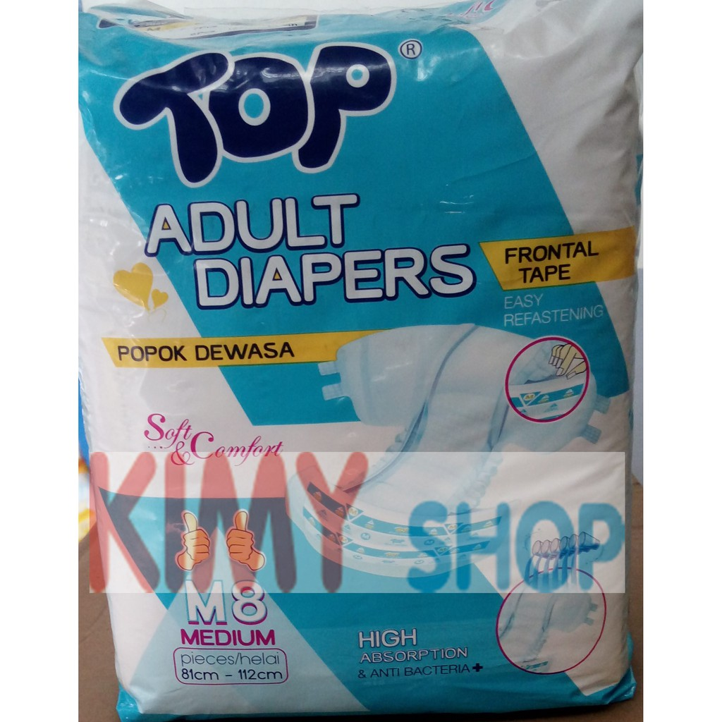 Popok Perekat Dewasa Oto Adult Diapers L 8 Shopee Indonesia Lifree Refill Lapisan Penyerap Isi 18pcs