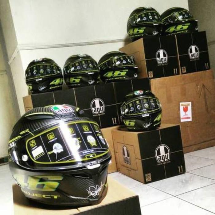 Helm Agv Pista Carbon Vr46 Shopee Indonesia