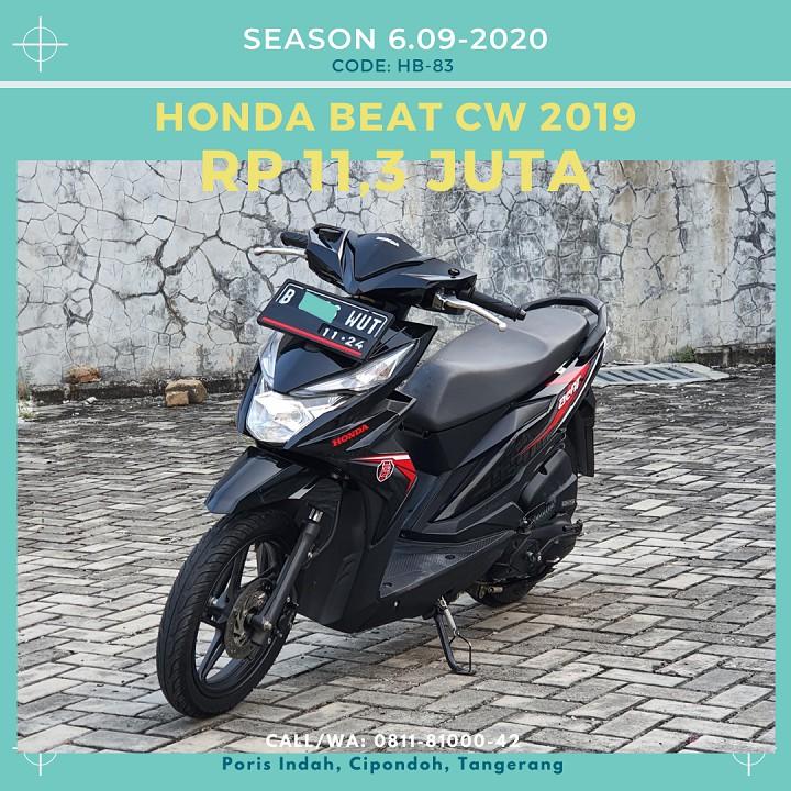 Motor Bekas Honda Beat CW 2019 - Hitam | by motor.rakjat
