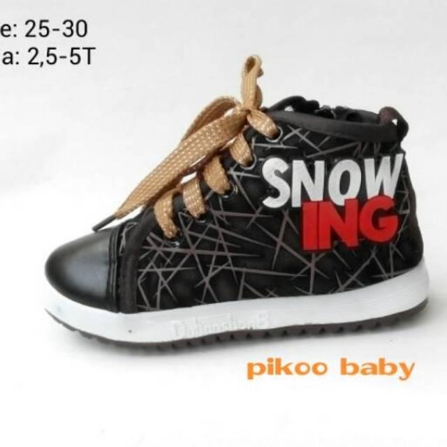 Impor Sepatu Anak Usia 3 4 5 Tahun Size 25 30 Model Sneaker