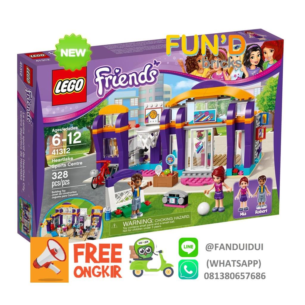 Lego Compatible Lepin 01012 Friends Heartlake Sports Centre 338pcs