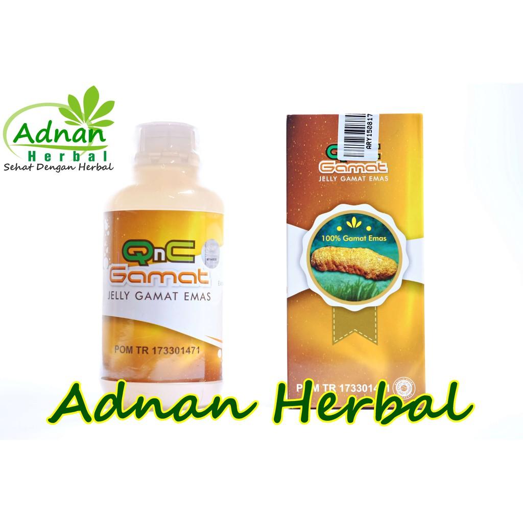 Obat Rhinitis Alergi Yang Ampuh 100% Alami - QnC Jelly Gamat   Shopee Indonesia