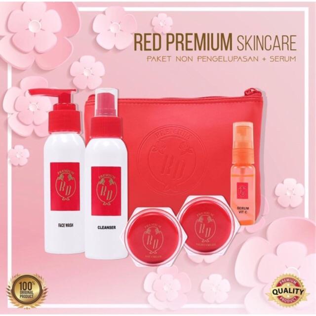 TERMURAH PAKET CLEANSER + SERUM RD ARNI / RED PREMIUM / RD PREMIUM ORIGINAL FREE