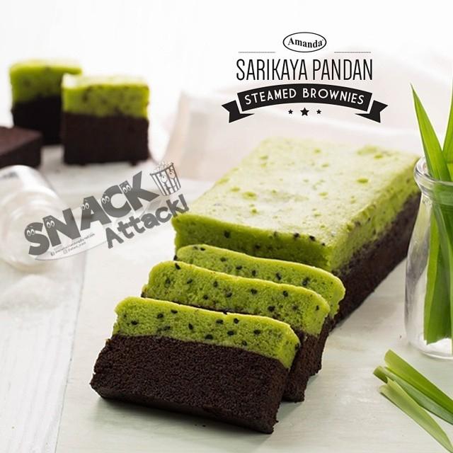 Sarikaya Pandan - Brownies Amanda