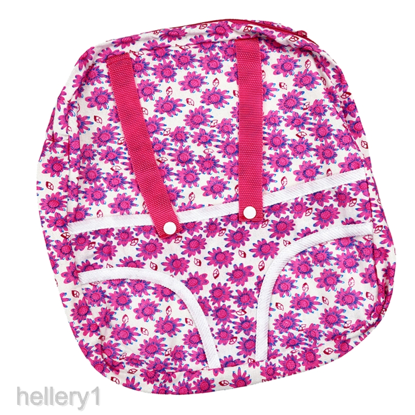 Fashion Travel Backpack Kids Bag Flower for 18inch AG American Doll Dolls Accs