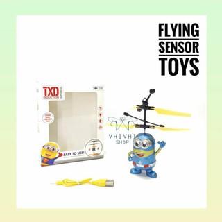 Flying Sensor Toys/ Drone Mainan/ Mainan Anak/ Mainan Terbang/ Sensor. suka