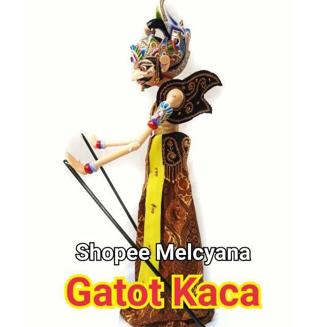 Gatot Kaca Wayang Golek Kualitas Pajangan Shopee Indonesia